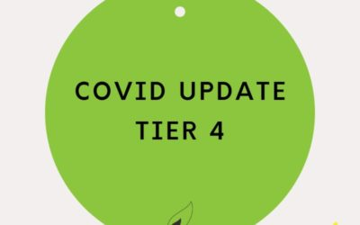 COVID UPDATE TIER 4